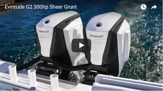 EVINRUDE G2 300HP SHEER GRUNT