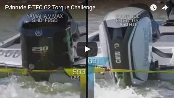 Evinrude E-TEC G2 Torque Challenge